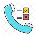 Telephone Survey Icon