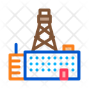 Telephone Connection Station Icon