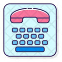 Telephone Typewriter Icon