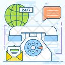 Telephonic Services Icon