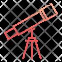 Telescope Scientific Science Icon