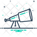 Telescope Binoculars Spyglass Icon