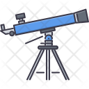 Telescope Space Star Icon
