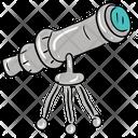 Telescope Research Equipment Space Telescope Icon