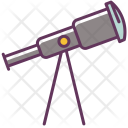 Telescope Stargazing Astronomy Icon