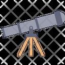 Telescope Universe Galaxy Icon