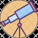 Telescope Spyglass Vision Icon