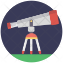 Book Telescope Spyglass Icon