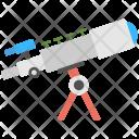 Telescope Astronomy Spyglass Icon