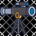 Mtelescope Telescope Astronomy Icon