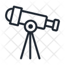 Telescope Science Scope Icon