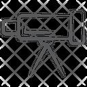 Telescope Astrophysics Spy Glass Icon