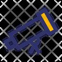 Telescope Astronomy Space Icon