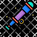 Telescope Aerospace Alien Icon