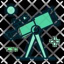 Telescope Astronomy Science Icon