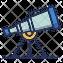 Discover Telescope Astronomy Icon