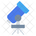 Telescope Space Astronomy Icon