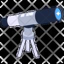 Telescope Research Equipment Spy Glass Icon