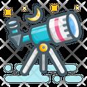 Telescope Moon Ramadan Icon