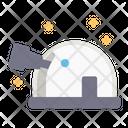 Telescope Space Science Icon