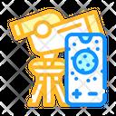 Telescope Phone Connectivity Icon