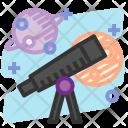 Telescope Observe Education Icon