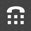 Teletype Typing Telephone Icon