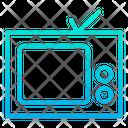 Tv Video Entertainment Device Icon