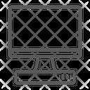 Tv Monitor Media Icon
