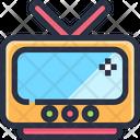 Television Tv Entertainment Device Icon