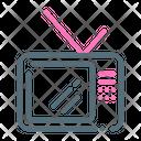 Tv Retro Television Icon