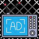 Television Ads Media Icon