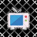 Television Antenna Marketing Icon
