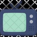 Television Antenna Tv Screen Icon