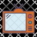 Television Monitor Retro Icon