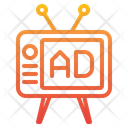 Television Tv Ads Broadcasting Icon