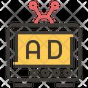 Television Advertise Icon