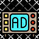 Television Digital Branding Icon