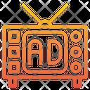 Television Online Marketing Icon