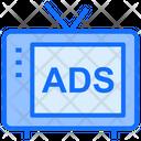 Television Advertising Television Advertising Icon