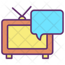 Television Message Icon