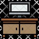 Televison Furniture House Icon