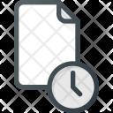 Temp Temporary Time Icon