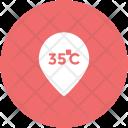 Temperature Scale Degree Icon