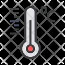 Temperature Thermometer Reading Icon