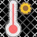 Temperature High Temperature Thermometer Icon