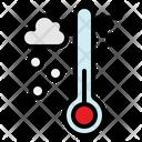 Heat Temperature Thermometer Icon
