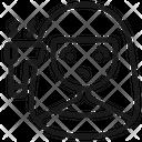 Corona Virus Covid 19 Protect Icon