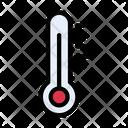 Temperature Thermometer Climate Icon
