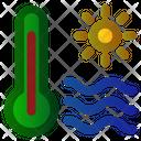 Temperature Hot Summer Icon